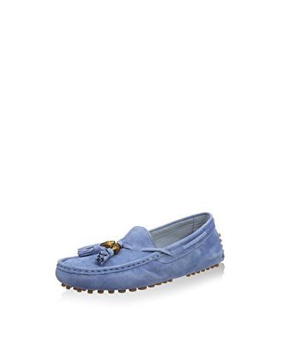 Gucci Mocasines Azul Claro