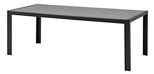 a5b9861583b8 Best Price For JYSK Table SKAGEN 100x205 alu/artwood grey - Garden ...