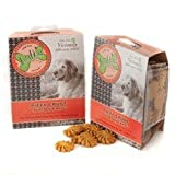 The Lazy Dog Cookie Co Inc Pizza Crust Bites Pup Squeaks, 7 Ounce Boxes (Pack of 3)