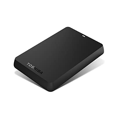 Toshiba Canvio 750 GB USB 3.0 Basics Portable Hard Drive - HDTB107XK3AA(Black)