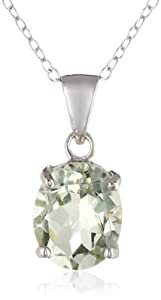 """Sterling Silver Pendant Necklace, 18"""" from Chateau D'Argent Inc"""