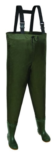 buy Allen Brule River Bootfoot Chest Waders with Cleated Soles for sale