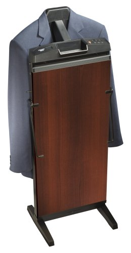 Corby 7700 3-Cycle Pants Press with Automatic Shut Off and Manual Cancel Options, Walnut Finish
