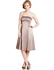 M&S Collection Sleeveless Piping Prom Dress