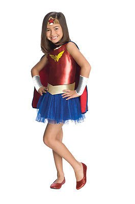 Wonder Woman Child Costume with Tutu Size:Toddler (2T-4T)