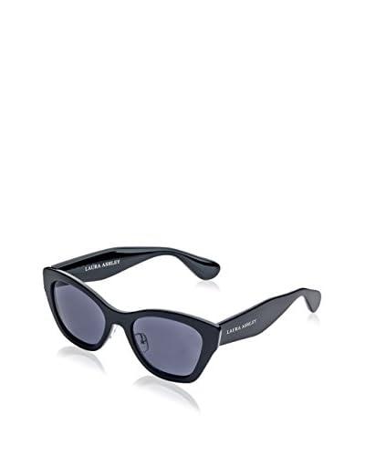 Laura Ashley Women's LA1101 Sunglasses, Black