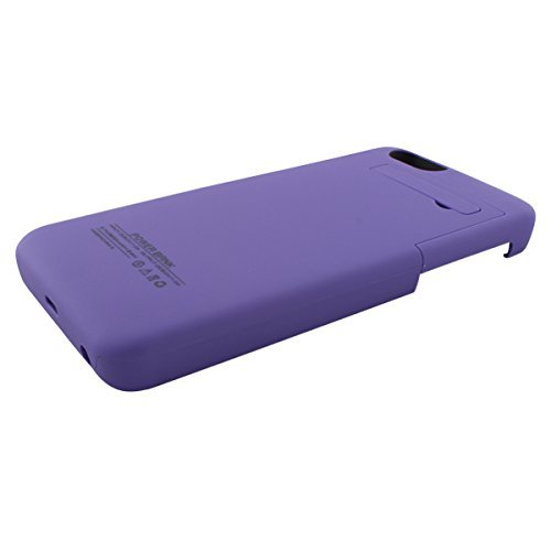 Ultra ? Edition Purple 3200mah Iphone 6 6s slim thin Power Bank Rechargeable charger case cover external battery backup compatible with Apple iOS9 and previous versions 3200 mAh i6 4.7