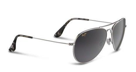 maui-jim-gs264-17-silver-mavericks-aviator-sunglasses-polarised