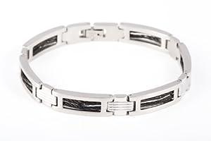 Bracelet Homme - Acier inoxydable 28 Gr - 21cm