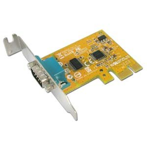Sunix 1-port RS-232 PCI Express Low Profile Board