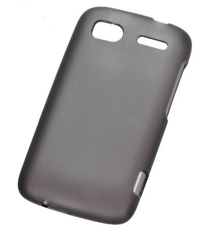 FoneM8 – HTC Sensation Smoke Black Pro Gel Skin Case Cover With Free Screen protector