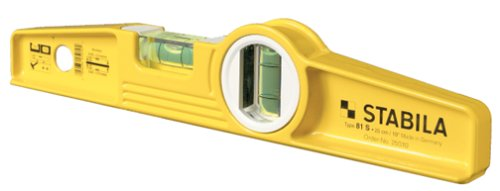 Stabila 25100 10 Inch Die Cast Rare Earth Magnetic Level
