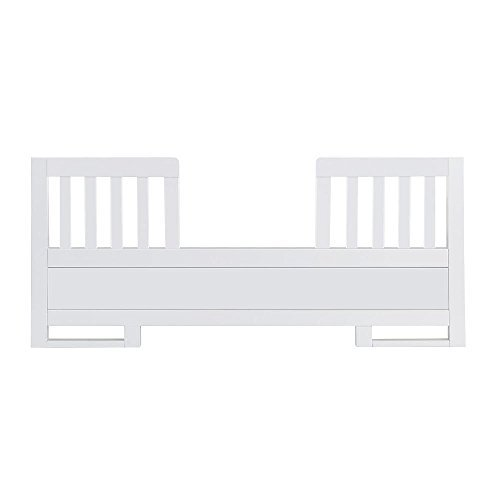 Karla DuBois Baby Toddler Bed Conversion Rail Kit, Pure White Finish - 1