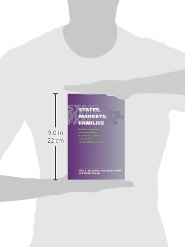 States, Markets, Families Hardback: Gender, Liberalism and Social Policy in Australia, Canada, Great Britain and the United States