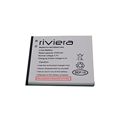 Riviera 1000mAh Battery (For Micromax A65)