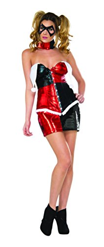 Secret Wishes Women's DC Comics Harley Quinn Deluxe Costume