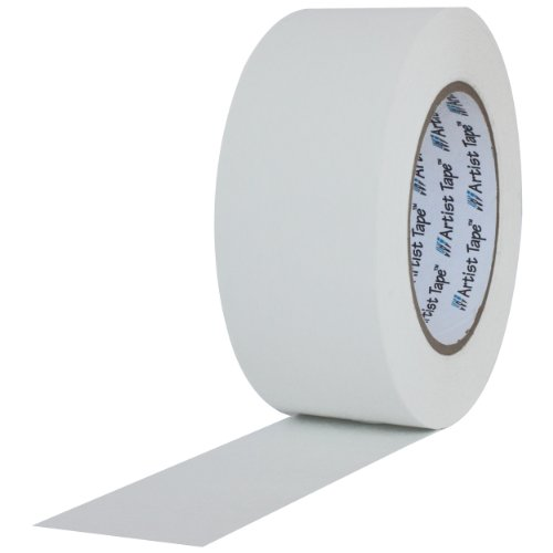 ProTapes Artist Tape Flatback Printable Paper Board Tape, 60 yds Length x 1