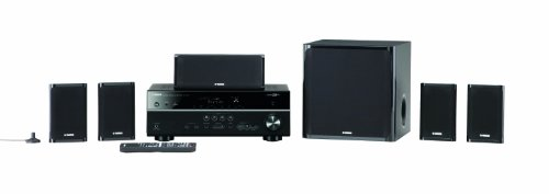 Yamaha YHT599UBL High Quality Durable 115W 5.1 Channel USB Home Theater