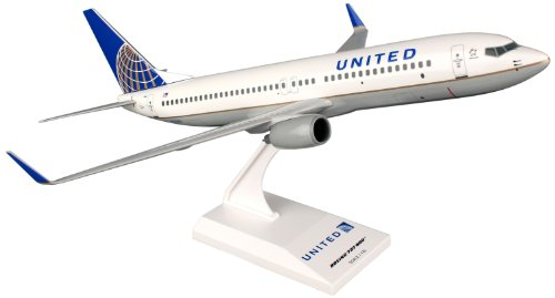 Daron Skymarks United 737-800 Post Co Merger Livery Model Kit (1/130 Scale) (United Airlines Model compare prices)