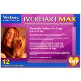 Iverhart Max Chewable Tablets For Dogs 6-12lbs 12pk by Virbac