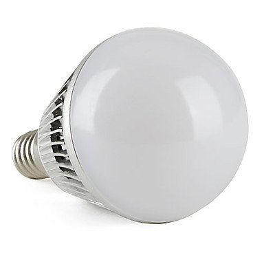 E14 3W 270-300Lm 6000-6500K Natural White Led Ball Bulb (85-265V)