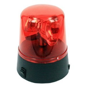 Flashing Spinning Red Light Toy Police Light