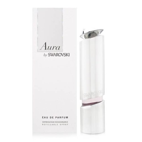 SWAROVSKI Aura Eau De Parfum Refillable Spray for Women, 1.7 Ounce