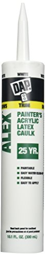 dap-18670-alex-white-painters-acrylic-latex-caulk-and-silicone-sealant-case-of-12-101-ounce-cartridg