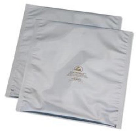 New Desco 8 X 12 Inch Transparent In Standard ESD Shielding Bag Heat Sealable Package Of 100