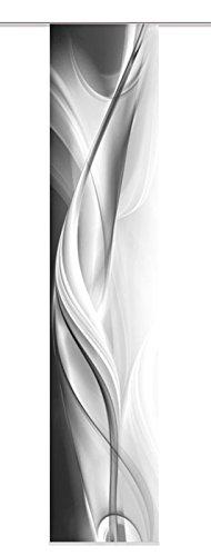 home-fashion-87313-703-tenda-a-pannello-halifax-tessuto-decorativo-300-x-60-cm-grigio
