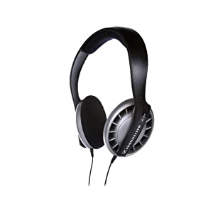 Sennheiser HD 408 Headphone with Flexible Headband (Black)