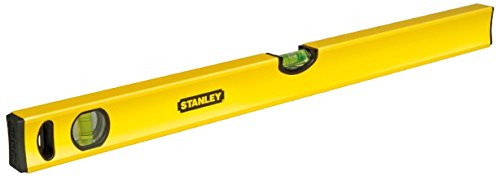 Stanley-Wasserwaage-Klassik-150cm-Lnge-horizontalevertikale-Libelle-Schockabsorber-Genauigkeit-05mmm-STHT1-43107