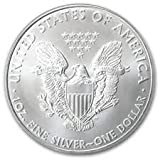 2010 Silver American Eagle Brilliant Uncirculated Gem Us Coin .999 Fine Silver Bullion 1 Oz $1
