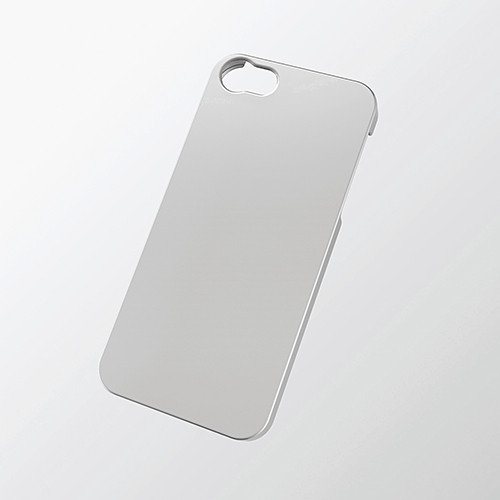 Iphone 5/5S Essential Hard Case Silver