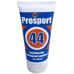 Solrx PROSPORT Sunscreen - High UV SPF Factor 44 - Sun, Athlete and Sports recommended