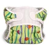 Bummis swimmi Durable mediano de pañales de tela (garantizada, plomo, ftalatos y libre de BPA)-Fishies Niño/Bebé/Niño/Kid