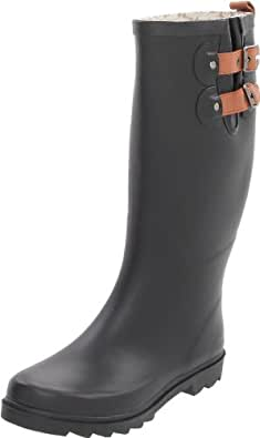 Beautiful Amazoncom  AimTrend Womens Waterproof Welly Rain Boots  Rain