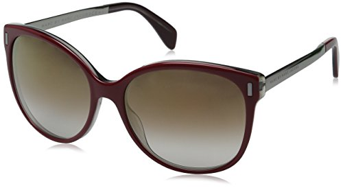 marc-by-marc-jacobs-womens-mmj464s-oval-sunglasses-burgundy-ruthenium-brown-mirror-gold-shadow-56-mm