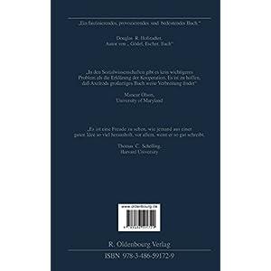 Die Evolution Der Kooperation (Scientia Nova) (German Edition): Aus Dem Amerikanischen Übersetzt Un