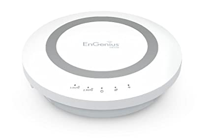 EnGenius ESR1200 - Router (10, 100, 1000 Mbit/s, 10/100/1000Base-T(X), 802.11a, 802.11ac, 802.11b, 802.11g, 802.11n, 300, 867 Mbit/s, Ethernet (RJ-45), 2.0) Color blanco