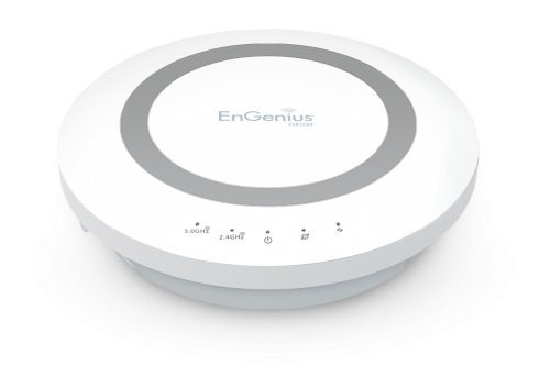 EnGenius Technologies Dual Band 2.4/5 GHz Wireless AC1200 Router with Gigabit and USB (ESR1200)