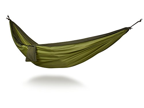 Ultra-Light Camping Hammock By Hammock Time (Tm) Portable Travel Parachute Nylon Single Hammock Xl With Triple Stitching, Includes 2 Free Hi-Strength Carabiners front-912753