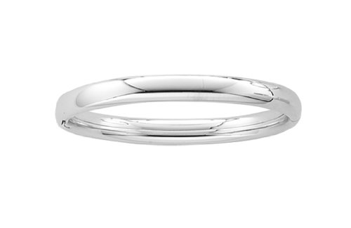 Sterling Silver Baby Polished Bangle Bracelet