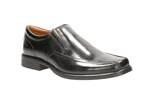 clarks-mens-smart-huckley-tough-leather-shoes-in-black-standard-fit-size-9