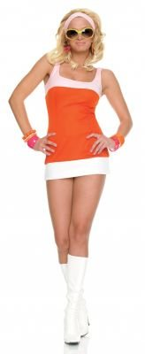 Sexy Candy Go-Go Girl Costume