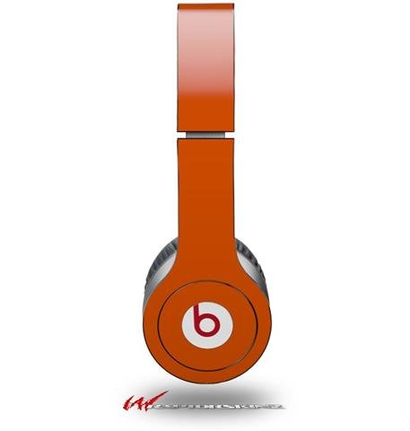 Solids Collection Burnt Orange Decal Style Skin (Fits Genuine Beats Solo Hd Headphones - Headphones Not Included)