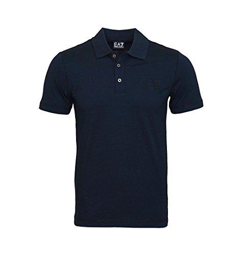 Emporio Armani -  Polo  - Uomo Blu Notte M