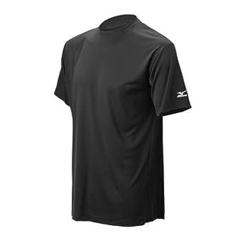 Mizuno Boy's Youth Mzo G4 Shirt (Black, Medium)