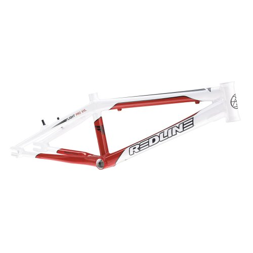 Redline 2012 Flight R6 Pro XXL Frame - White/Red
