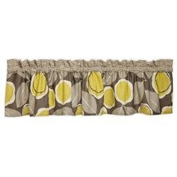 BananaFish Cecilia Window Valance - Grey - 1